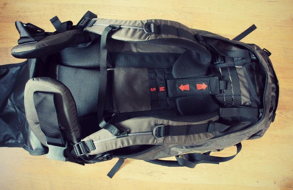 meru backpack erfahrungen test reisen kofferrucksack kaufen bestellen s damerika rucksack packen. Black Bedroom Furniture Sets. Home Design Ideas
