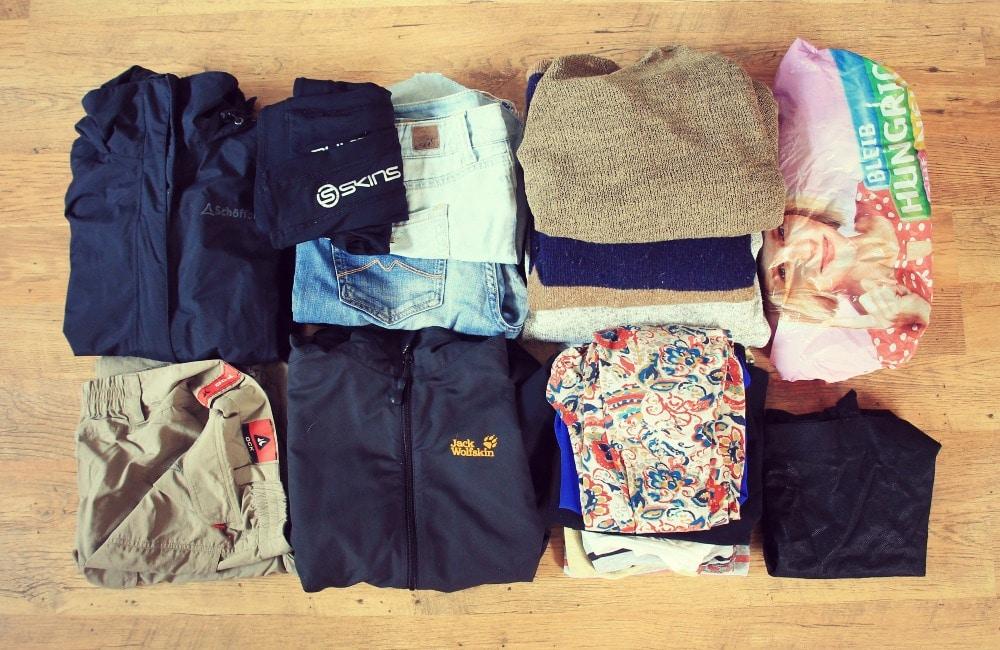 Peru Packliste und Kleidung