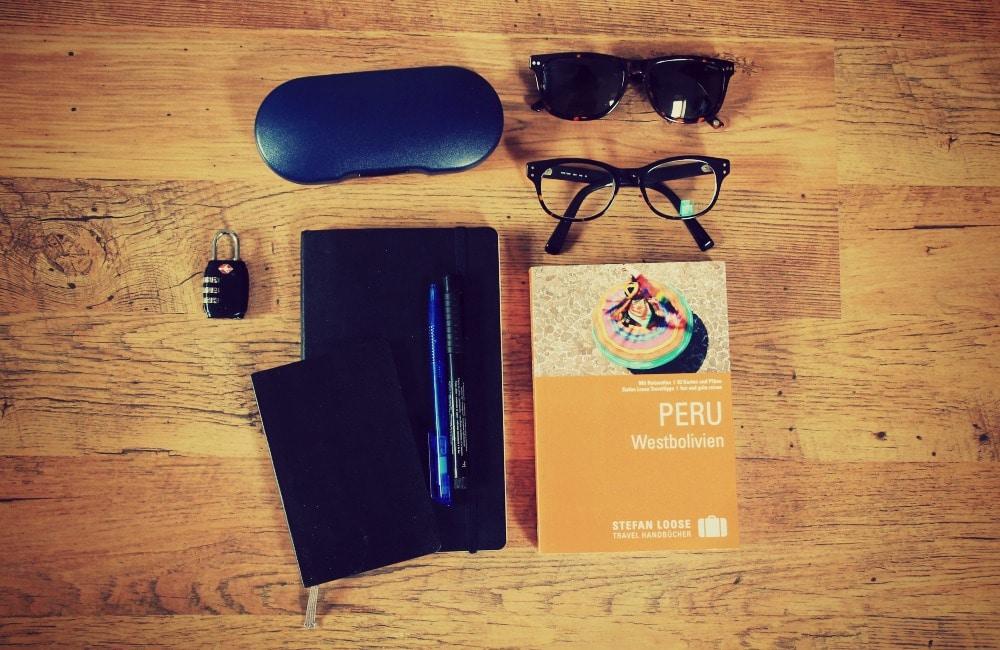 packliste_gepäck_liste_tipps_peru_backpack_erfahrungen_test_reis_südamerika_rucksack_packen_rundreise_brille_sonnenbrille_reiseführer