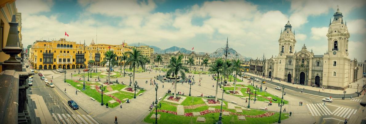 Das historische Zentrum von Lima