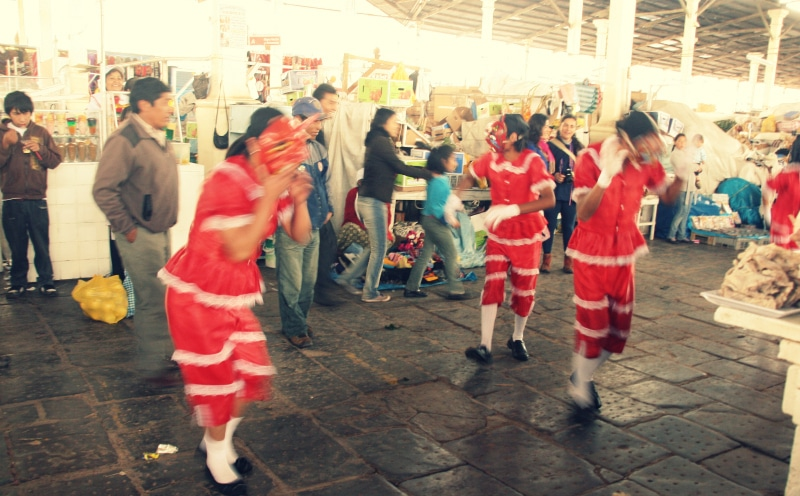 san pedro markt tänze