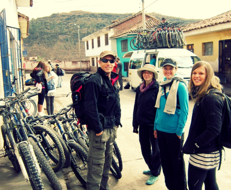 Mountainbike tour cusco