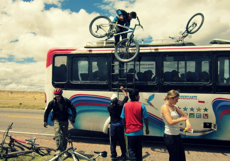 Mountainbike tour cusco peru