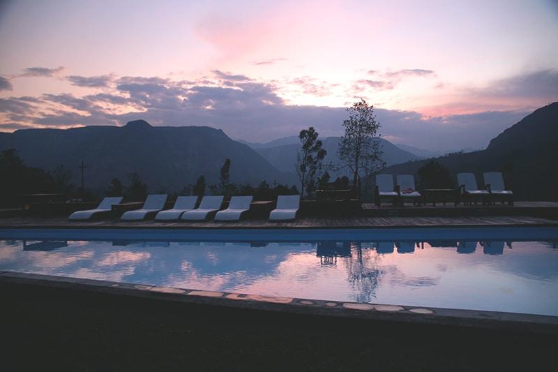 Gocta_Lodge_pool_abend_peru_wasserfall_norden_peru_rundreise
