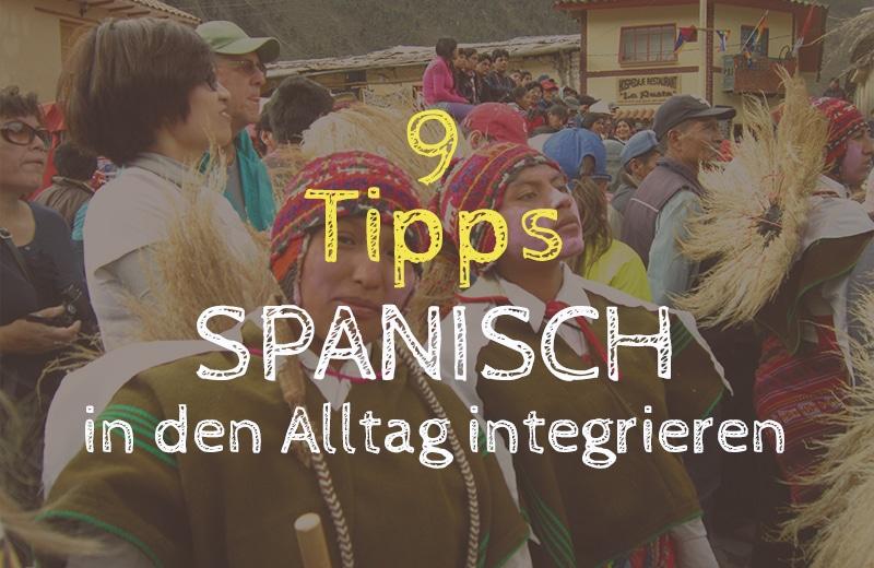 Ich möchte mich auf Spanisch treffen