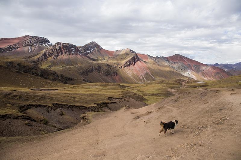 Regenbogen Berge in Peru