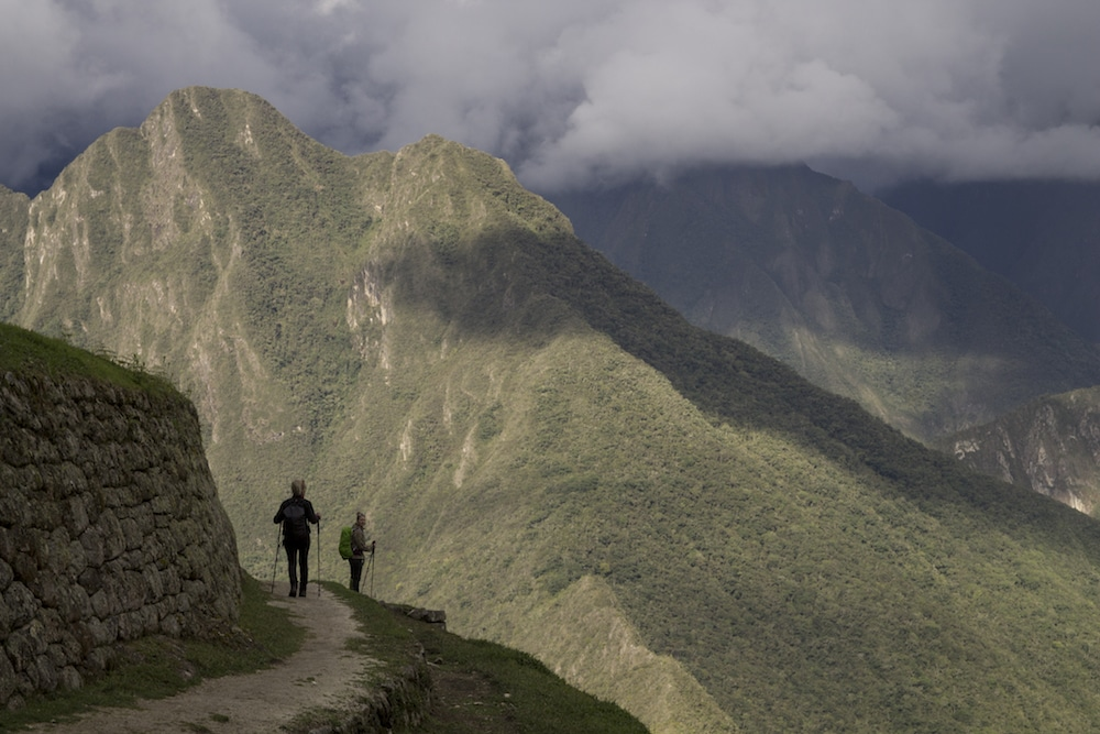 Wandern nach Machu Picchu