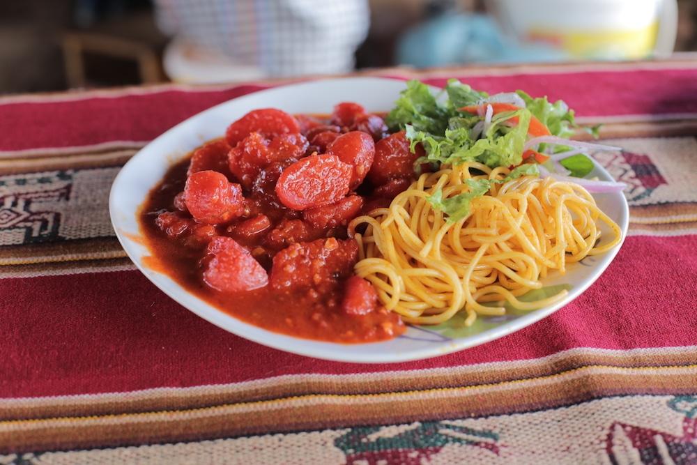 Puca Picante ist eine typische Speise aus Ayacucho