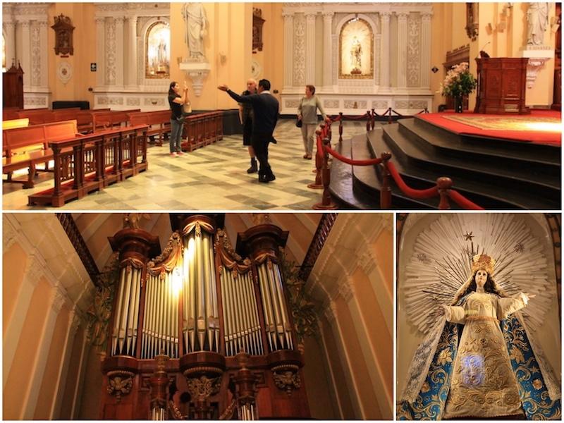 In der Kathedrale von Arequipa