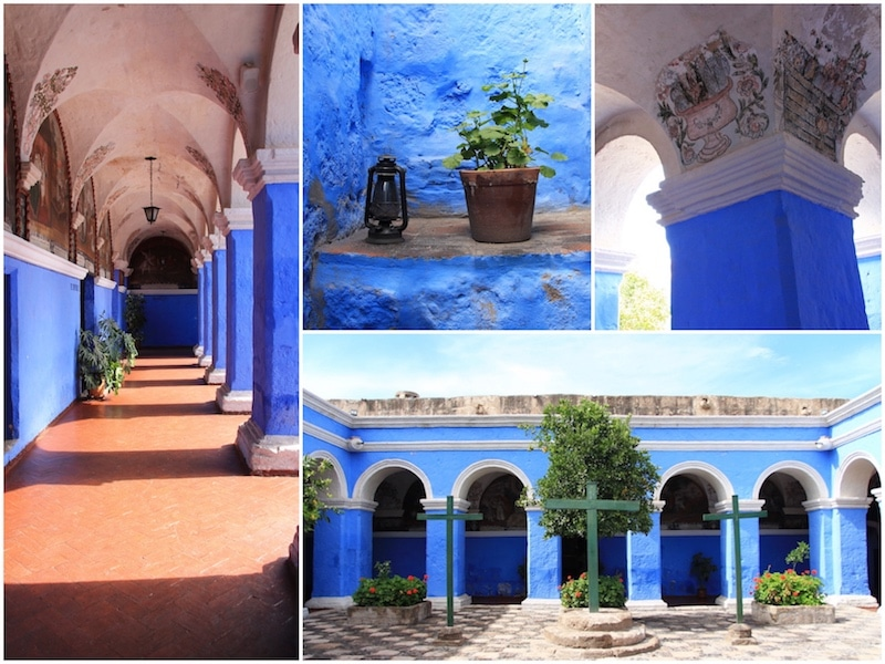 Im Santa Catalina Kloster