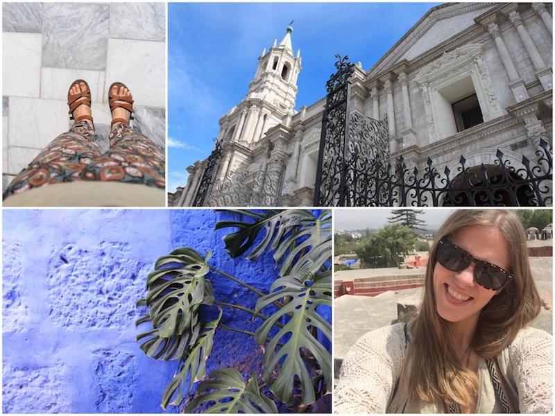 Besuch des historischen Zentrums in Arequipa