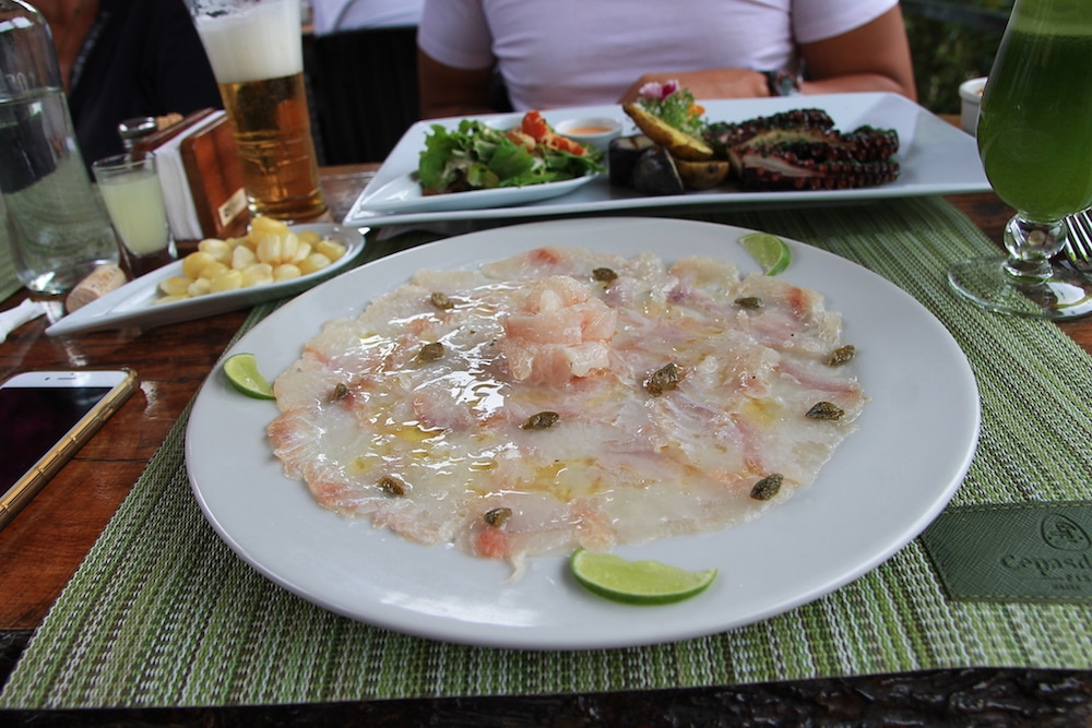 Cevicheria in Arequipa