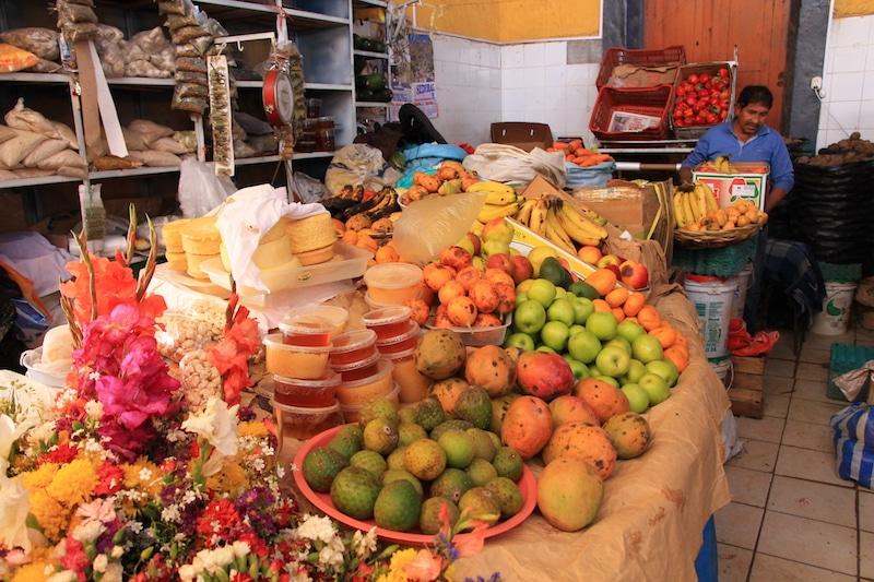 Markt von Chivay