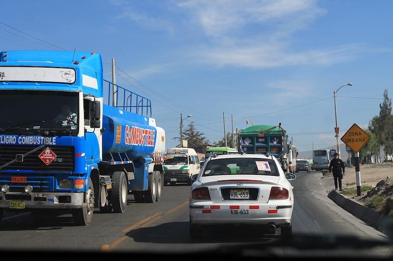 Peru Mietwagen