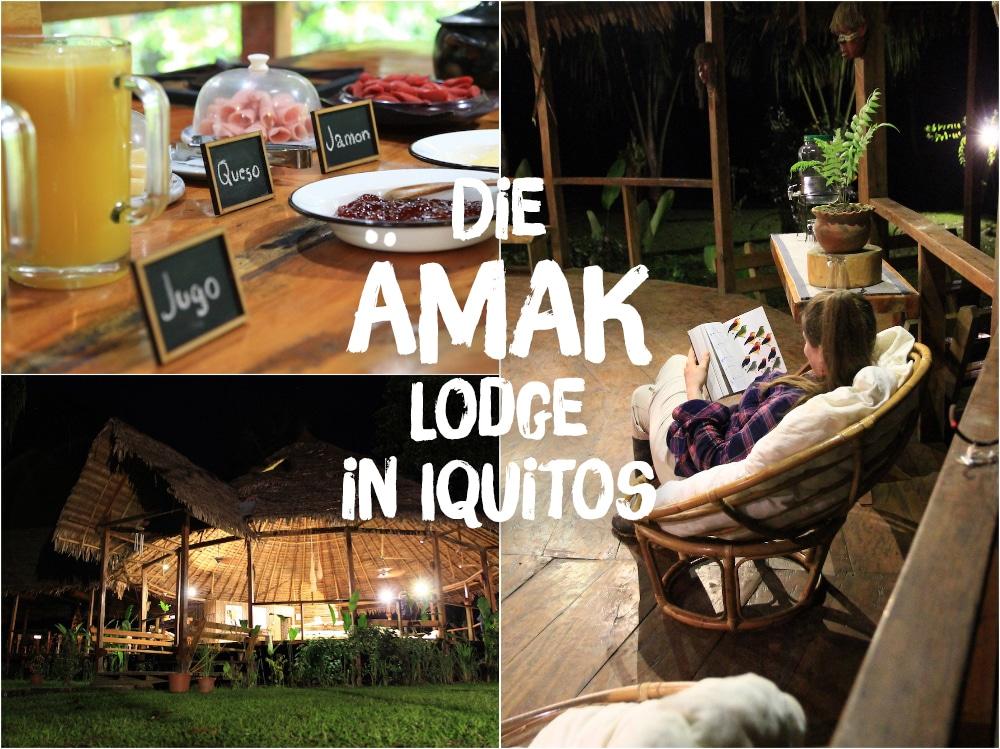 ᵂᴱᴿᴮᵁᴺᴳ Dschungelfeeling und Komfort: Die ÄMAK Lodge bei Iquitos
