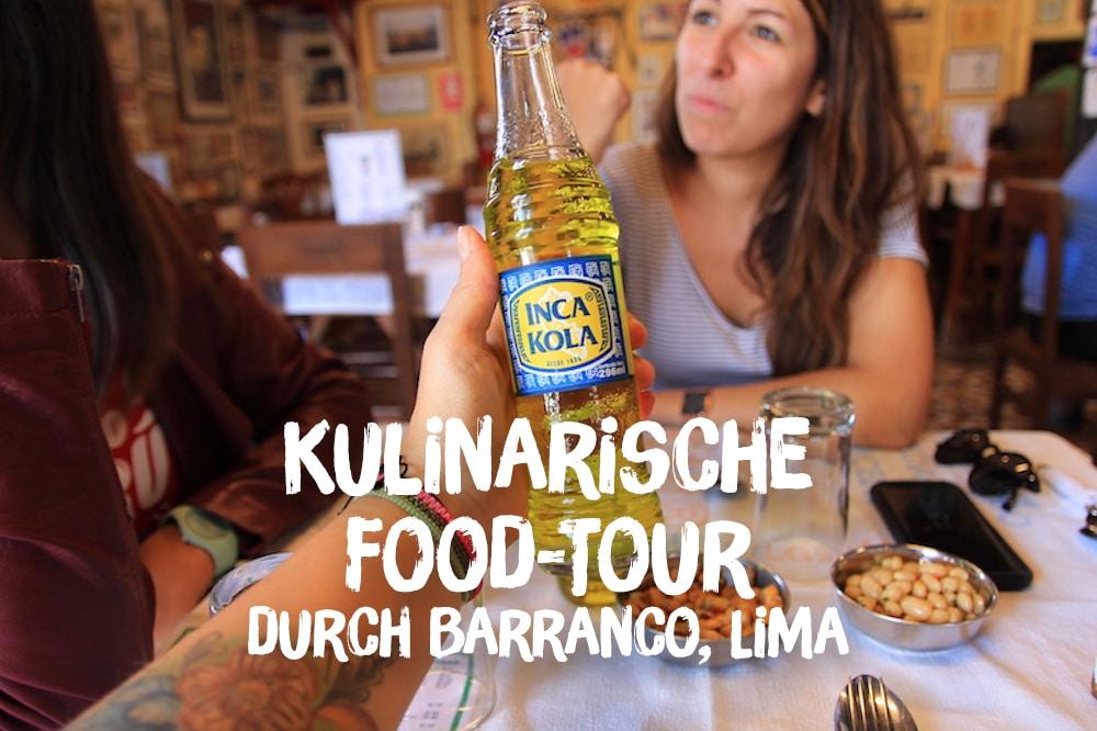 Kulinarische Food-Tour durch Barranco, Lima