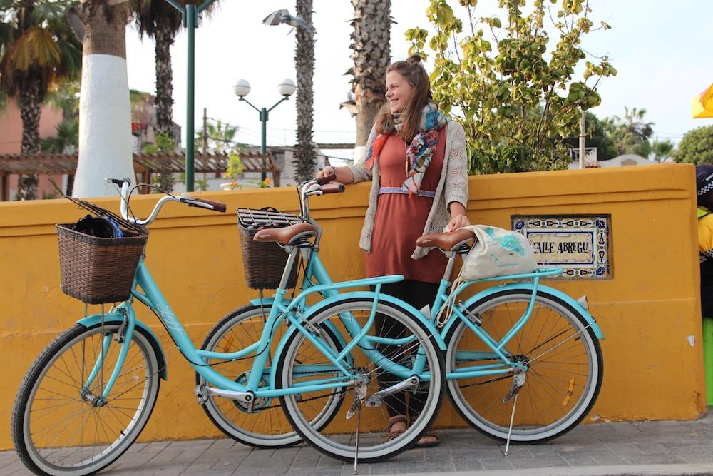Mit dem Fahrrad durch Lima