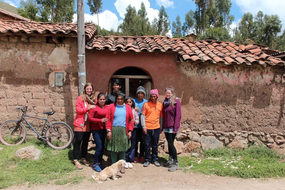 Zu Besuch bei Einheimischen in Tumi