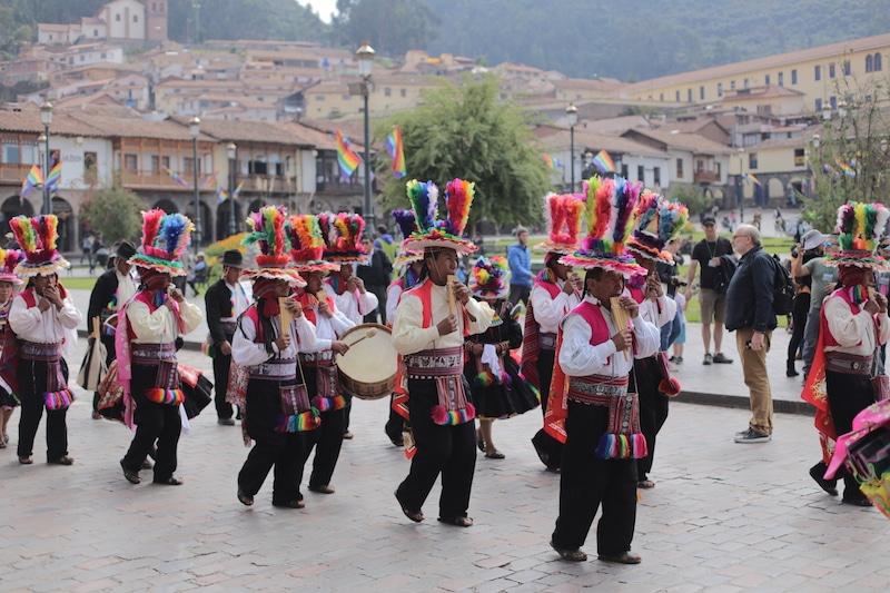 Feste Fotografieren in Peru