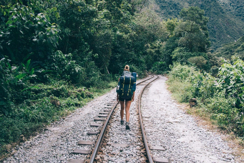 Wanderung nach Aguas Calientes