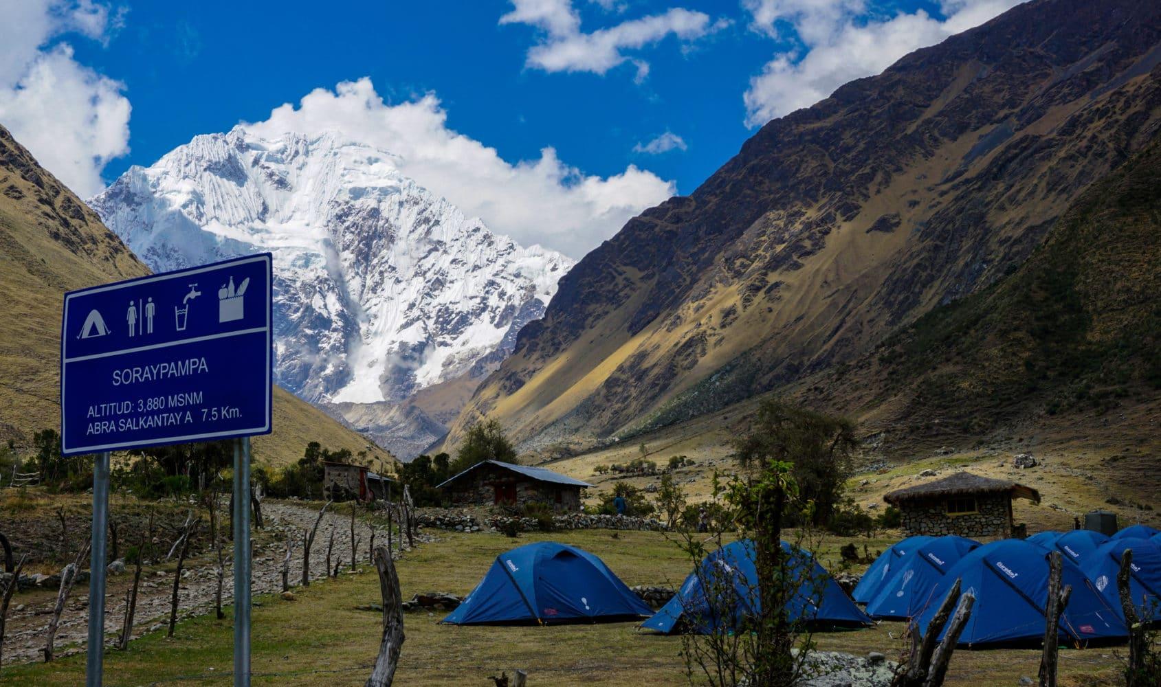 Salkantay Trek nach Machu Picchu