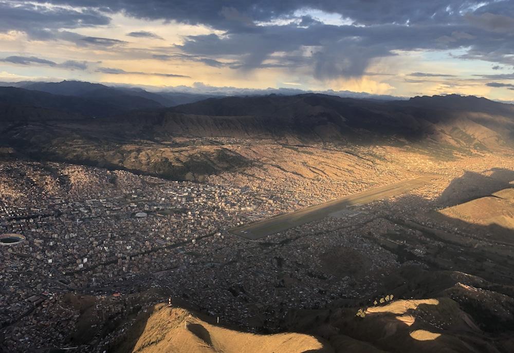 Landung in Cusco