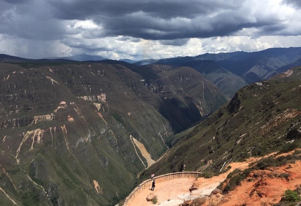 Cañon Sonche in der Nähe von Chachapoyas
