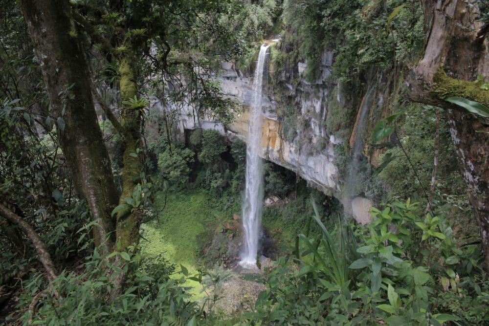 Der Wasserfall Yumbilla in der Region Amazonas