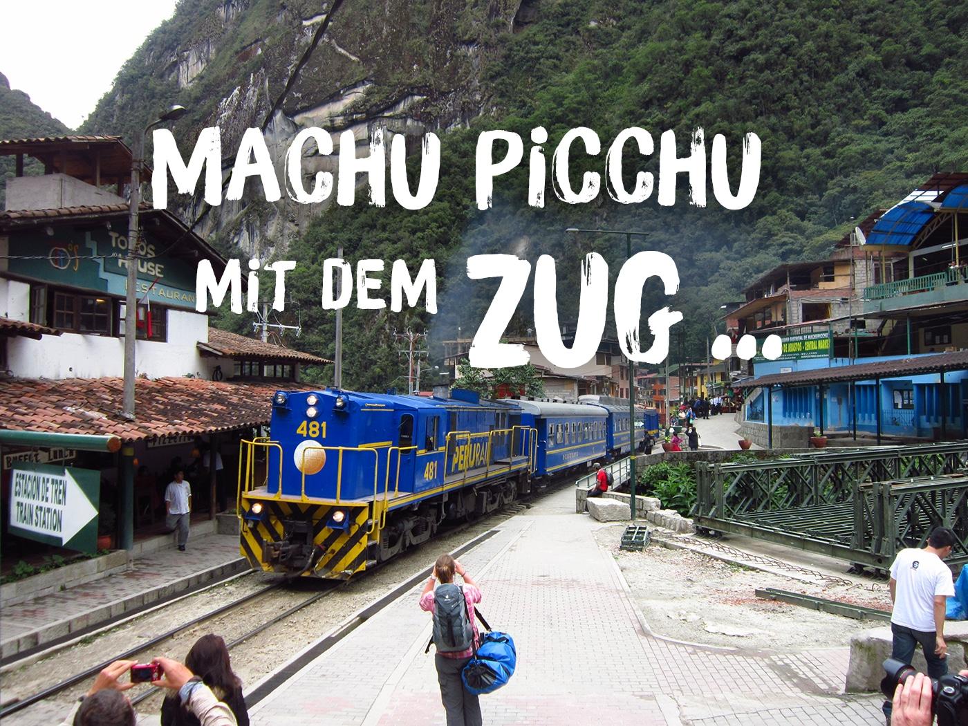 Machu Picchu Anreise: PeruRail vs Inca Rail