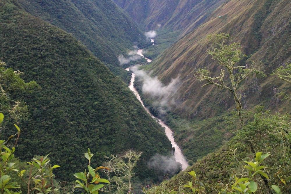 Inka Pfad nach Machu Picchu